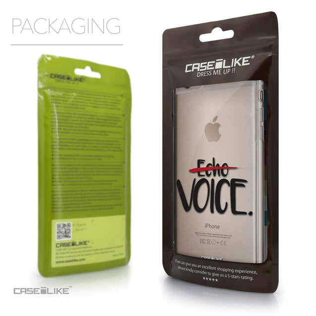 Packaging - CASEiLIKE Apple iPhone 6 Plus back cover Quote 2405