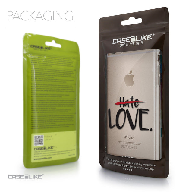 Packaging - CASEiLIKE Apple iPhone 6 Plus back cover Quote 2406