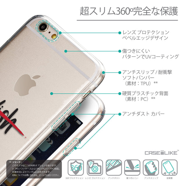 Details in Japanese - CASEiLIKE Apple iPhone 6 Plus back cover Quote 2407