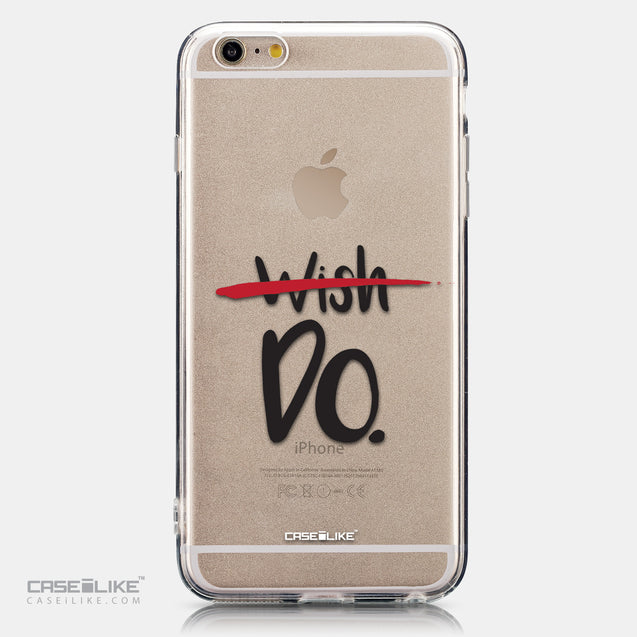 CASEiLIKE Apple iPhone 6 Plus back cover Quote 2407