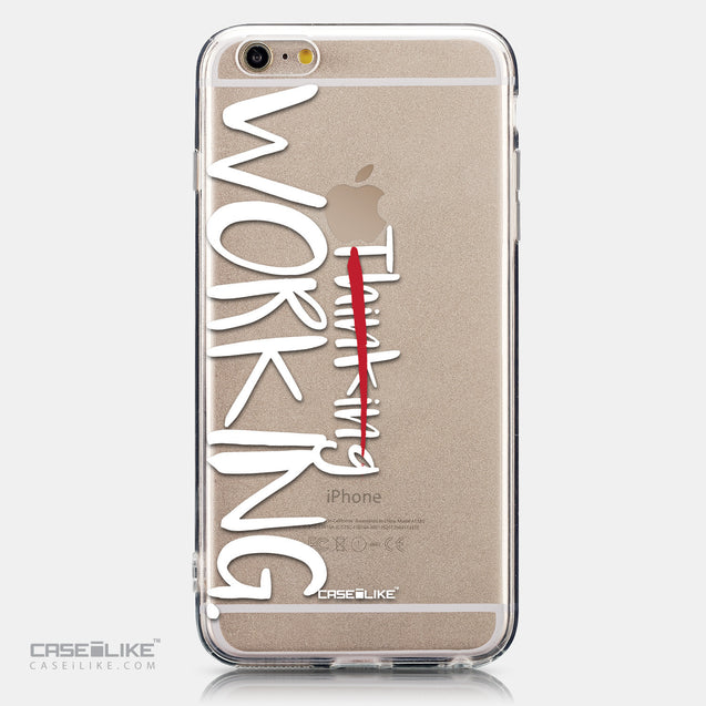 CASEiLIKE Apple iPhone 6 Plus back cover Quote 2411