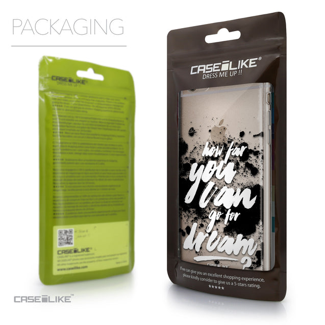 Packaging - CASEiLIKE Apple iPhone 6 Plus back cover Quote 2413