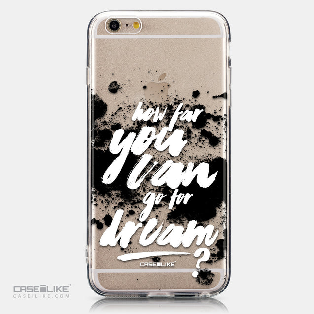 CASEiLIKE Apple iPhone 6 Plus back cover Quote 2413