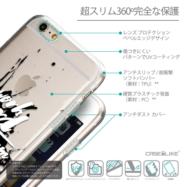 Details in Japanese - CASEiLIKE Apple iPhone 6 Plus back cover Quote 2414
