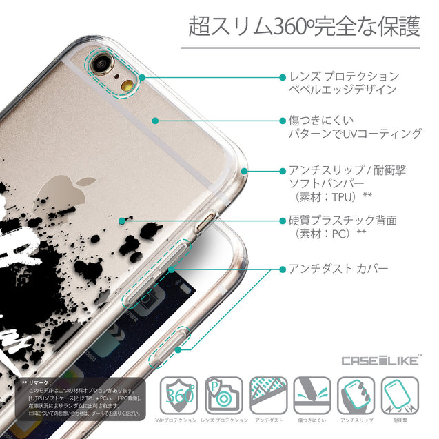 Details in Japanese - CASEiLIKE Apple iPhone 6 Plus back cover Quote 2415
