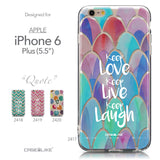 Collection - CASEiLIKE Apple iPhone 6 Plus back cover Quote 2417