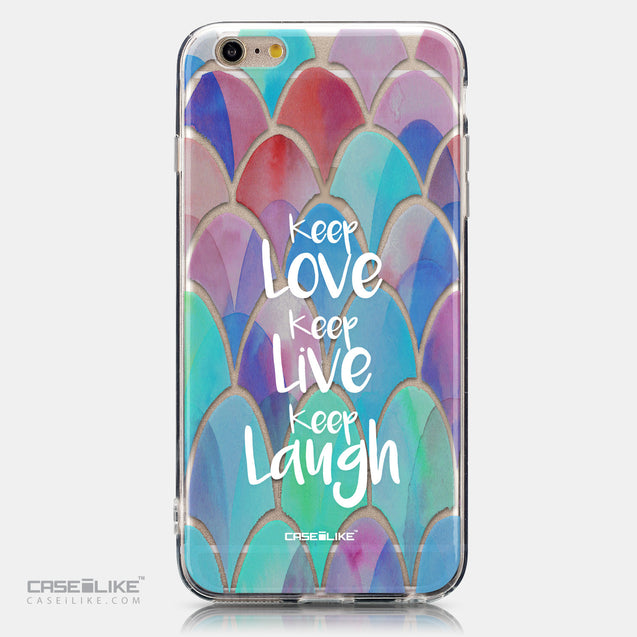 CASEiLIKE Apple iPhone 6 Plus back cover Quote 2417