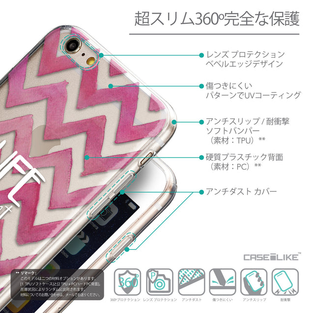 Details in Japanese - CASEiLIKE Apple iPhone 6 Plus back cover Quote 2419