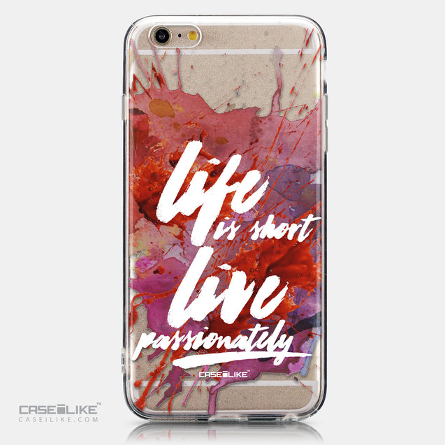 CASEiLIKE Apple iPhone 6 Plus back cover Quote 2423