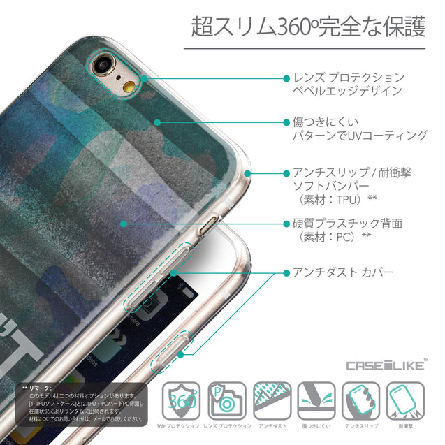 Details in Japanese - CASEiLIKE Apple iPhone 6 Plus back cover Quote 2431
