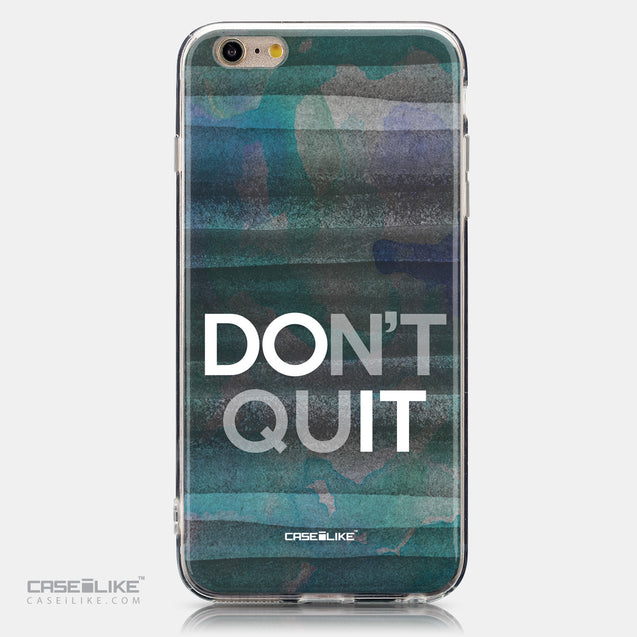 CASEiLIKE Apple iPhone 6 Plus back cover Quote 2431