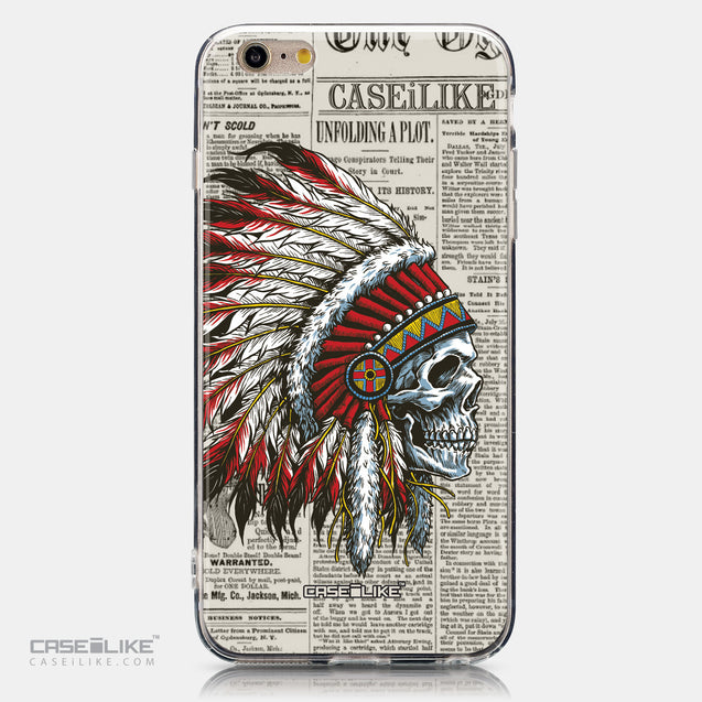 CASEiLIKE Apple iPhone 6 Plus back cover Art of Skull 2522
