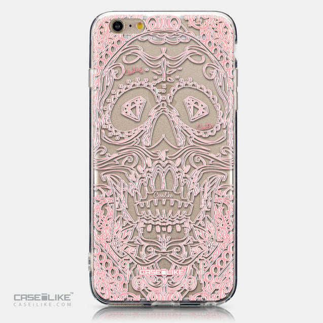 CASEiLIKE Apple iPhone 6 Plus back cover Art of Skull 2525