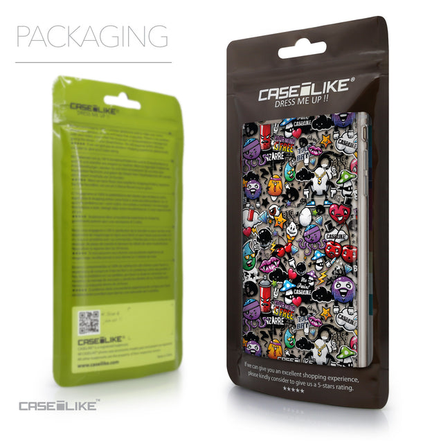 Packaging - CASEiLIKE Apple iPhone 6 Plus back cover Graffiti 2703