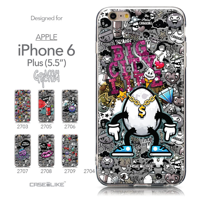 Collection - CASEiLIKE Apple iPhone 6 Plus back cover Graffiti 2704