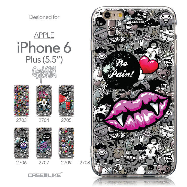 Collection - CASEiLIKE Apple iPhone 6 Plus back cover Graffiti 2708