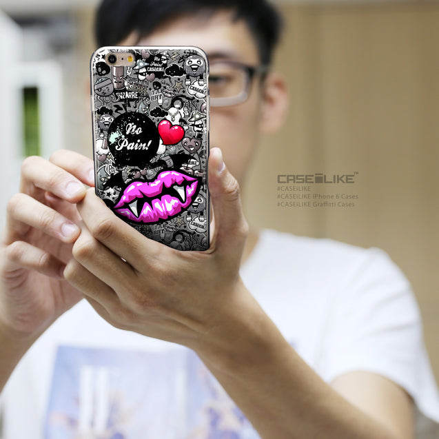 Share - CASEiLIKE Apple iPhone 6 Plus back cover Graffiti 2708