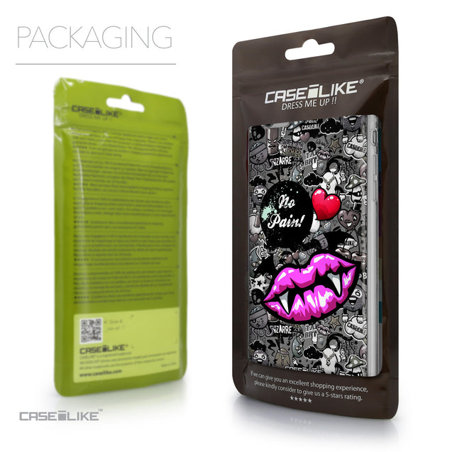 Packaging - CASEiLIKE Apple iPhone 6 Plus back cover Graffiti 2708