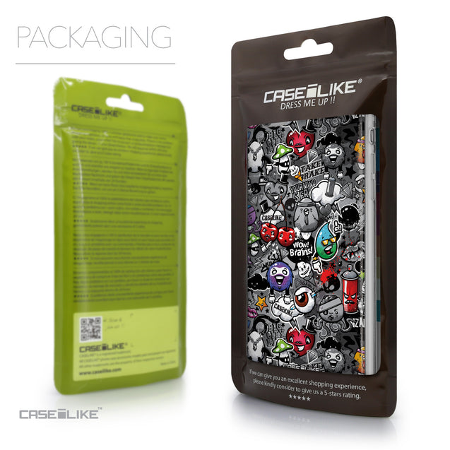 Packaging - CASEiLIKE Apple iPhone 6 Plus back cover Graffiti 2709