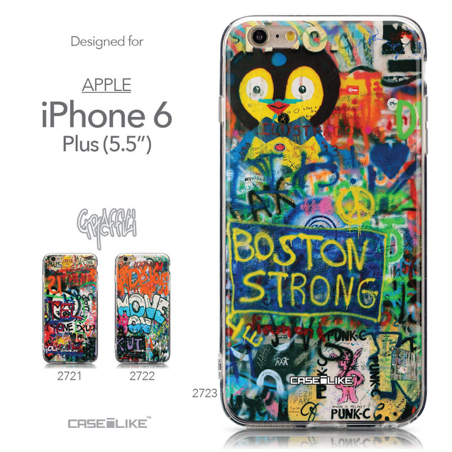 Collection - CASEiLIKE Apple iPhone 6 Plus back cover Graffiti 2723