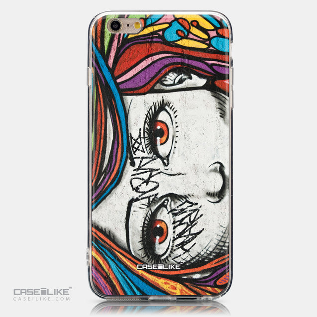 CASEiLIKE Apple iPhone 6 Plus back cover Graffiti Girl 2725