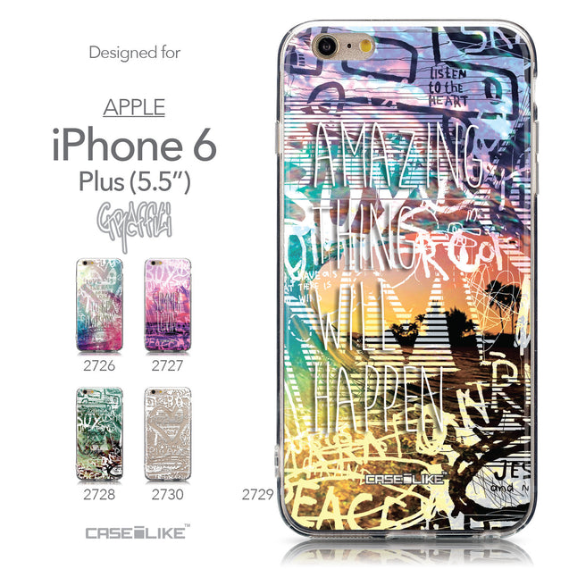 Collection - CASEiLIKE Apple iPhone 6 Plus back cover Graffiti 2729