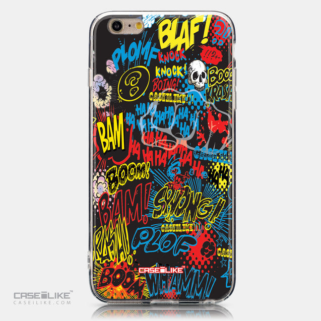 CASEiLIKE Apple iPhone 6 Plus back cover Comic Captions Black 2915