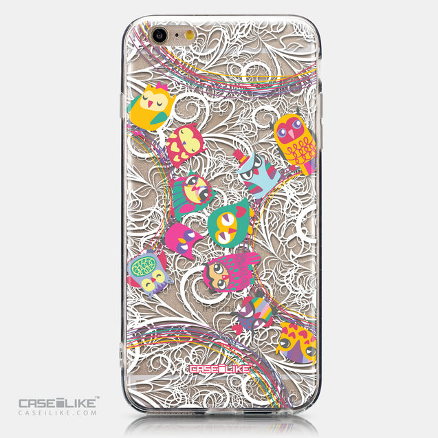 CASEiLIKE Apple iPhone 6 Plus back cover Owl Graphic Design 3316