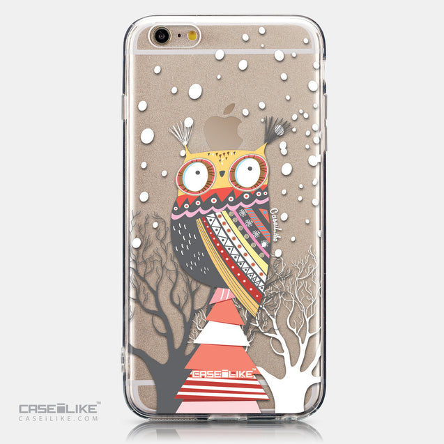 CASEiLIKE Apple iPhone 6 Plus back cover Owl Graphic Design 3317