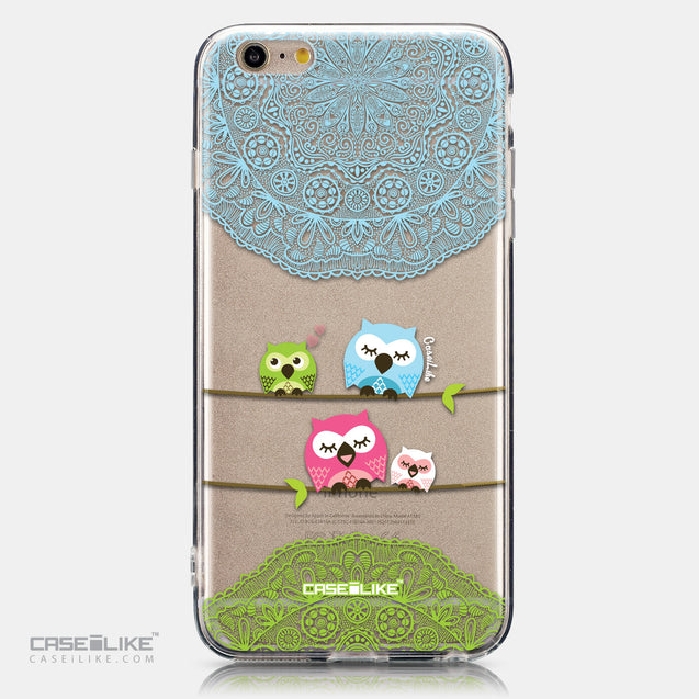 CASEiLIKE Apple iPhone 6 Plus back cover Owl Graphic Design 3318