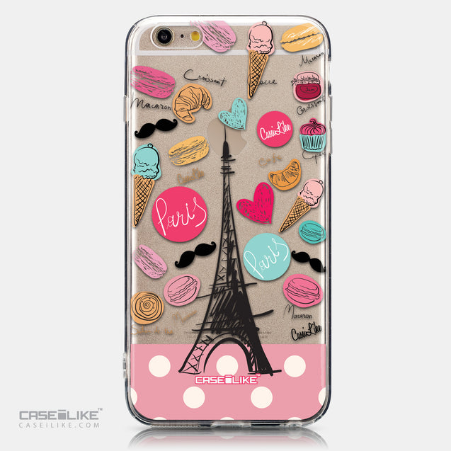 CASEiLIKE Apple iPhone 6 Plus back cover Paris Holiday 3904