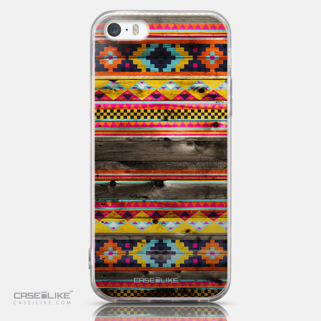 CASEiLIKE Apple iPhone SE back cover Indian Tribal Theme Pattern 2048