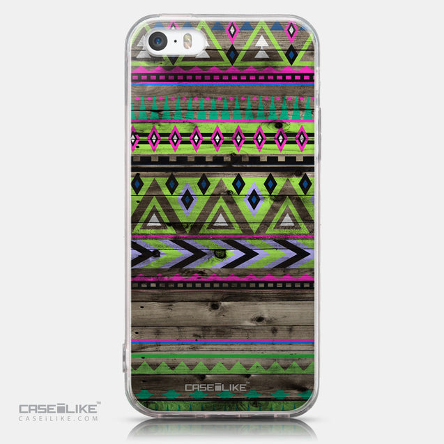 CASEiLIKE Apple iPhone SE back cover Indian Tribal Theme Pattern 2049