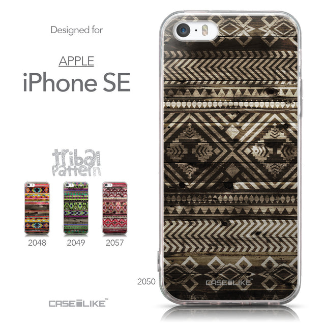 Collection - CASEiLIKE Apple iPhone SE back cover Indian Tribal Theme Pattern 2050