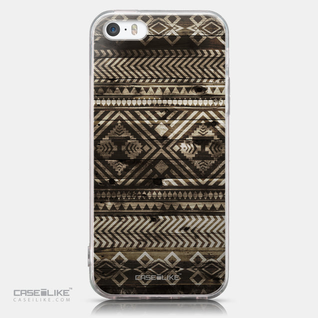 CASEiLIKE Apple iPhone SE back cover Indian Tribal Theme Pattern 2050