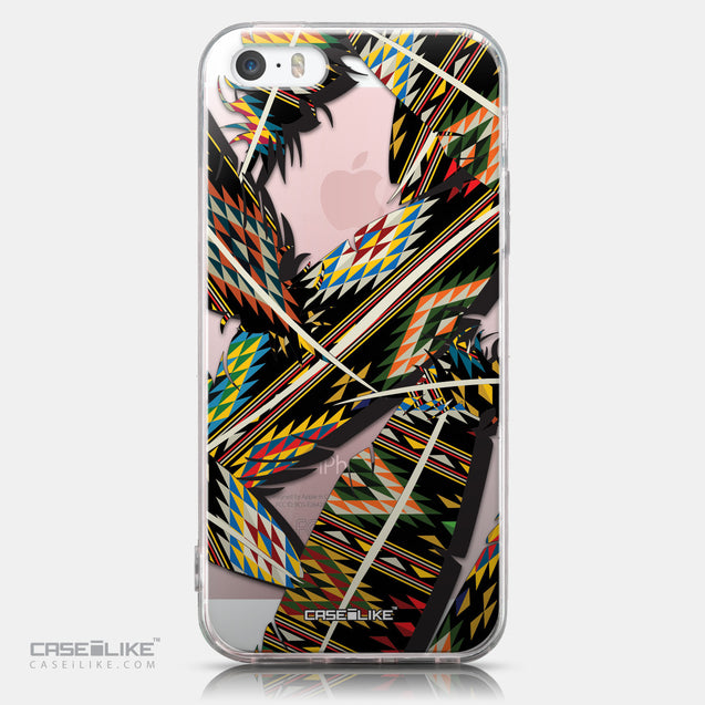 CASEiLIKE Apple iPhone SE back cover Indian Tribal Theme Pattern 2053