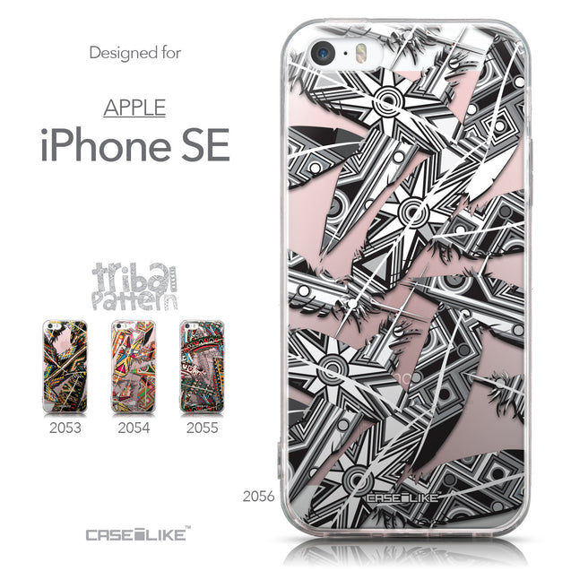 Collection - CASEiLIKE Apple iPhone SE back cover Indian Tribal Theme Pattern 2056
