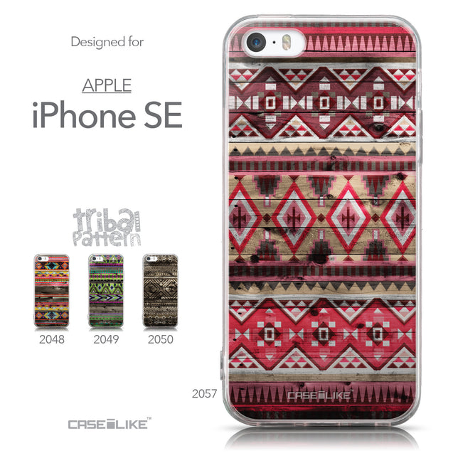 Collection - CASEiLIKE Apple iPhone SE back cover Indian Tribal Theme Pattern 2057