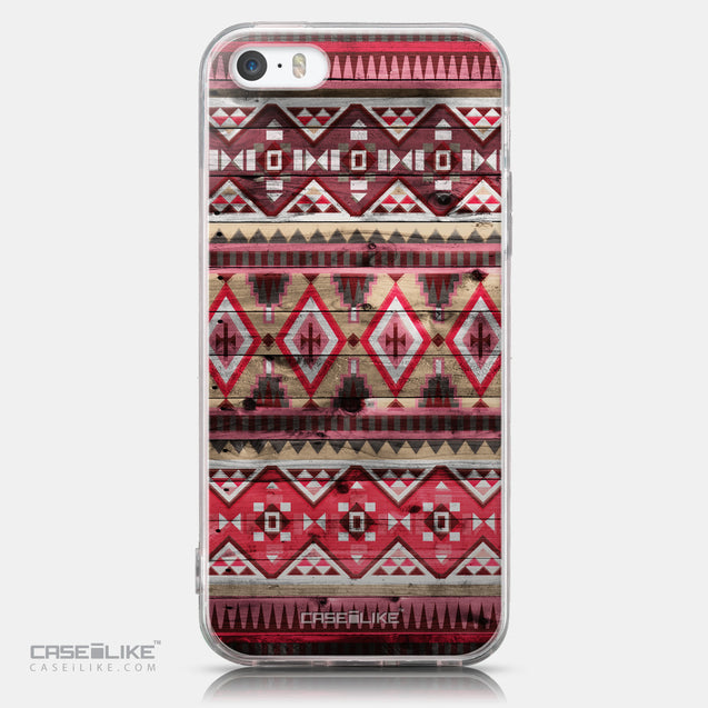 CASEiLIKE Apple iPhone SE back cover Indian Tribal Theme Pattern 2057
