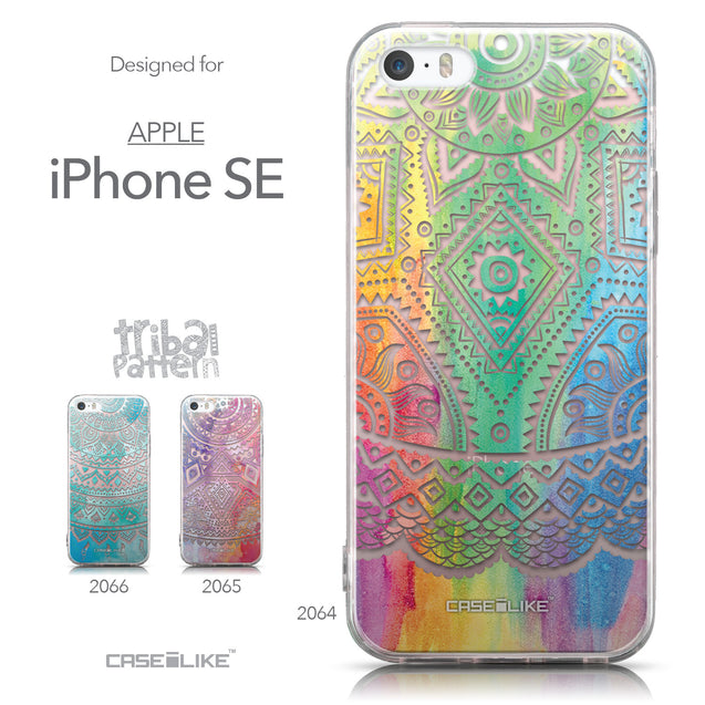 Collection - CASEiLIKE Apple iPhone SE back cover Indian Line Art 2064
