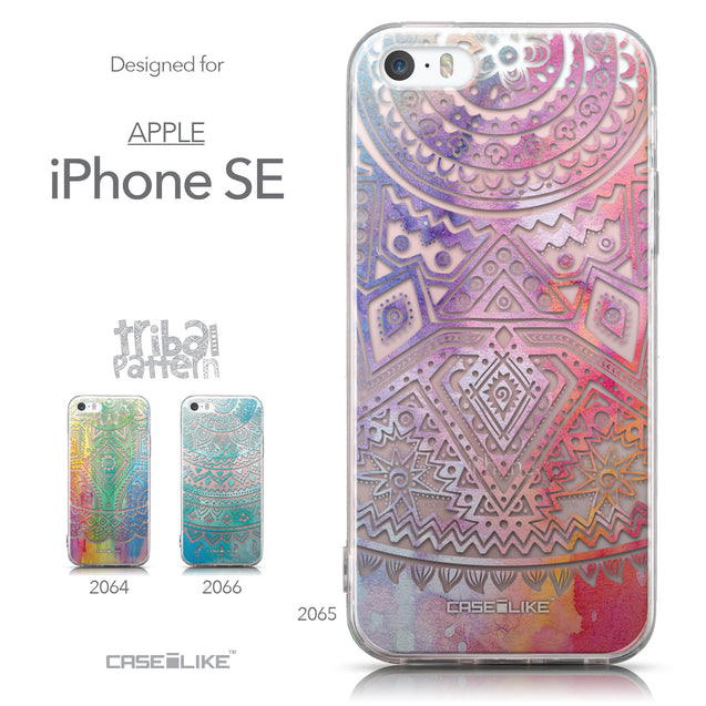 Collection - CASEiLIKE Apple iPhone SE back cover Indian Line Art 2065