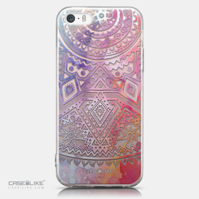 CASEiLIKE Apple iPhone SE back cover Indian Line Art 2065