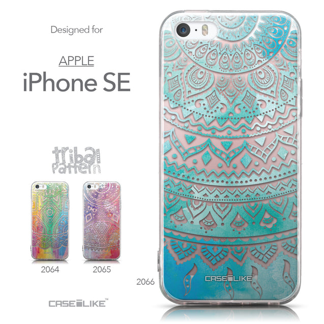 Collection - CASEiLIKE Apple iPhone SE back cover Indian Line Art 2066
