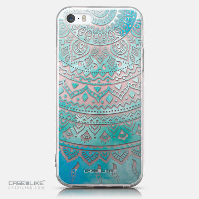 CASEiLIKE Apple iPhone SE back cover Indian Line Art 2066