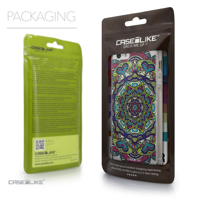 Packaging - CASEiLIKE Apple iPhone SE back cover Mandala Art 2094
