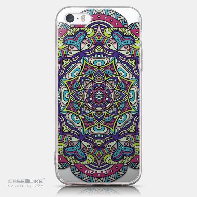 CASEiLIKE Apple iPhone SE back cover Mandala Art 2094