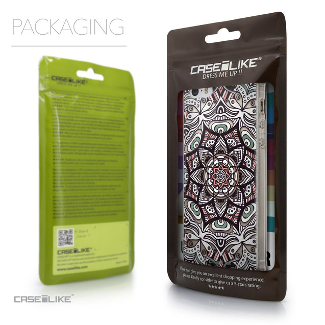 Packaging - CASEiLIKE Apple iPhone SE back cover Mandala Art 2095