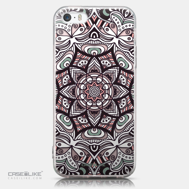 CASEiLIKE Apple iPhone SE back cover Mandala Art 2095
