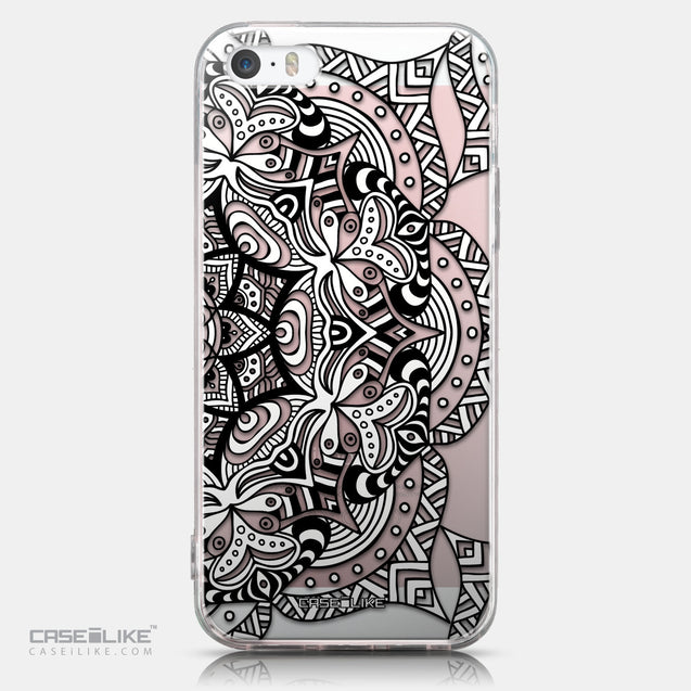 CASEiLIKE Apple iPhone SE back cover Mandala Art 2096