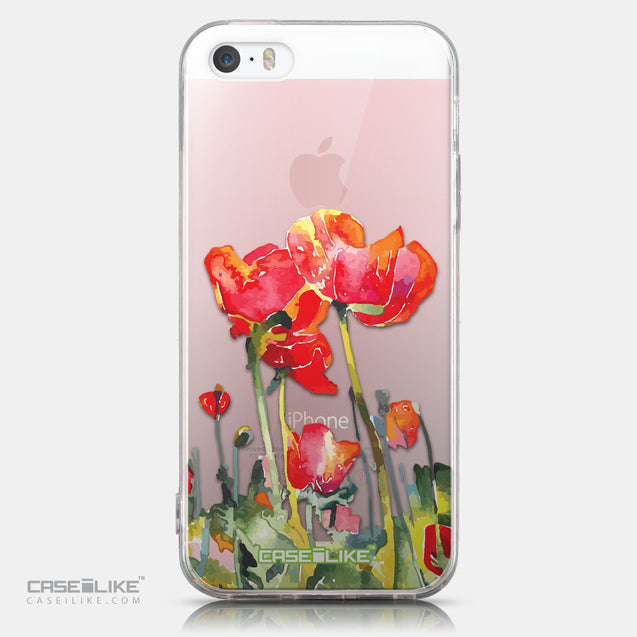 CASEiLIKE Apple iPhone SE back cover Watercolor Floral 2230